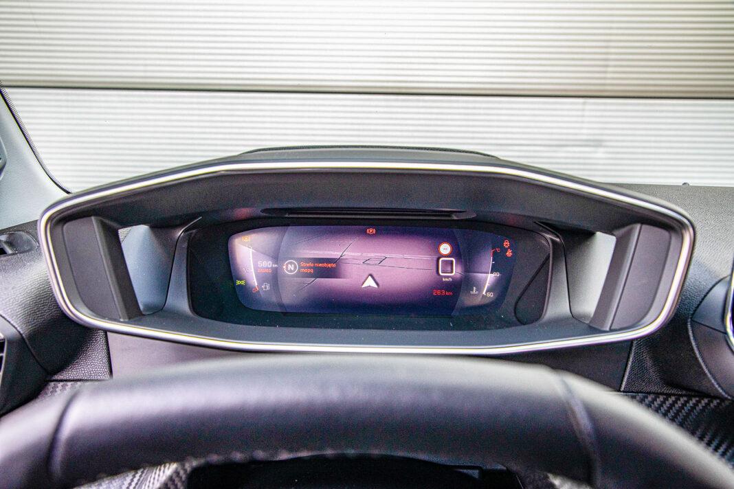 Peugeot 2008 - zegary