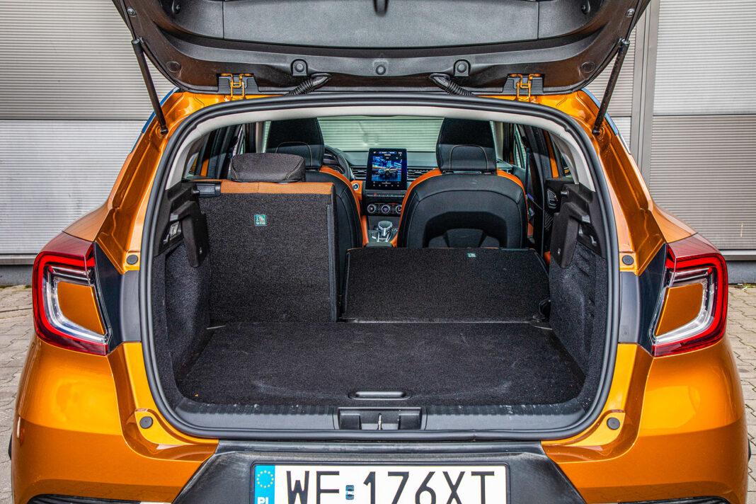 Renault Captur - bagażnik