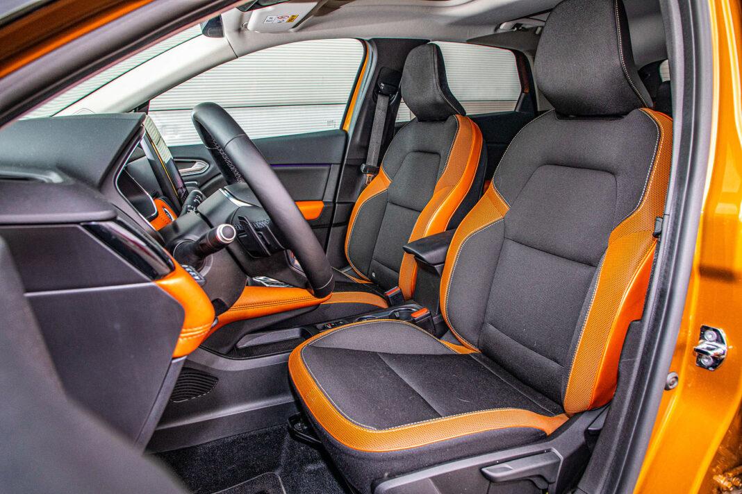 Renault Captur - fotele