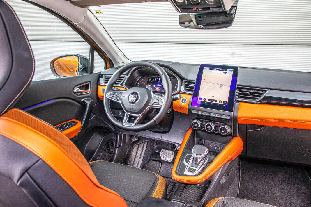 Renault Captur - kokpit