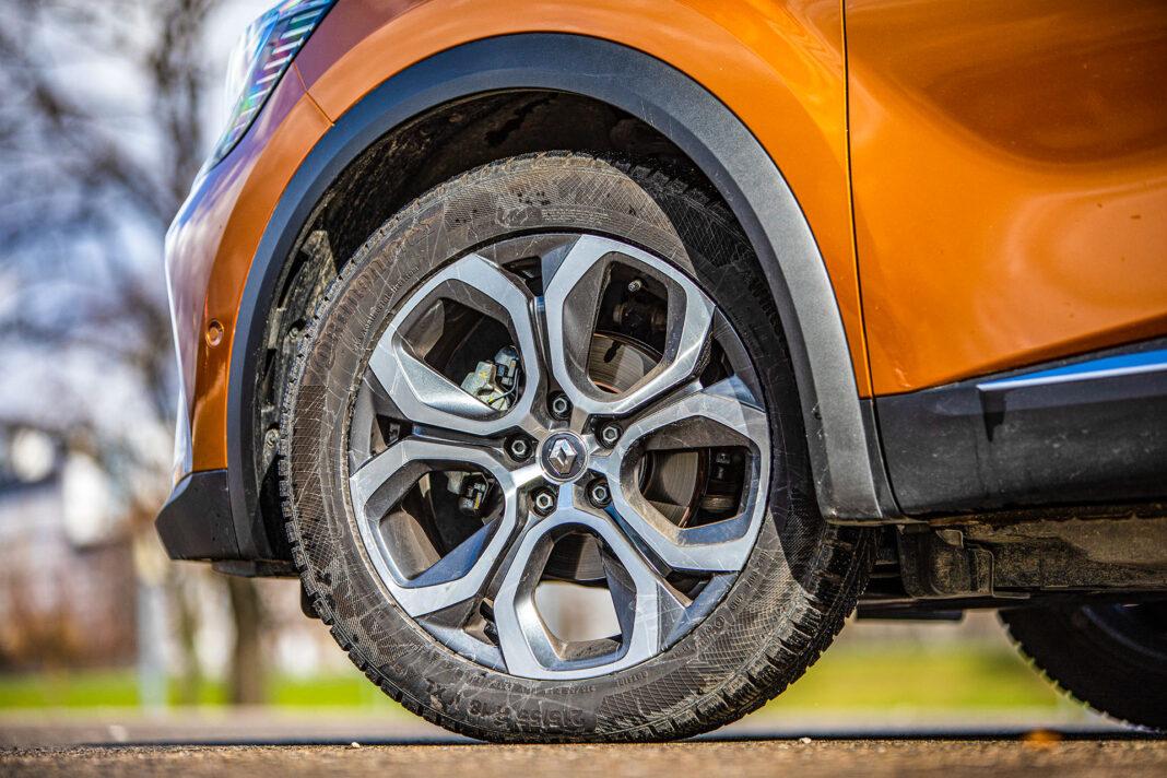 Renault Captur - koło