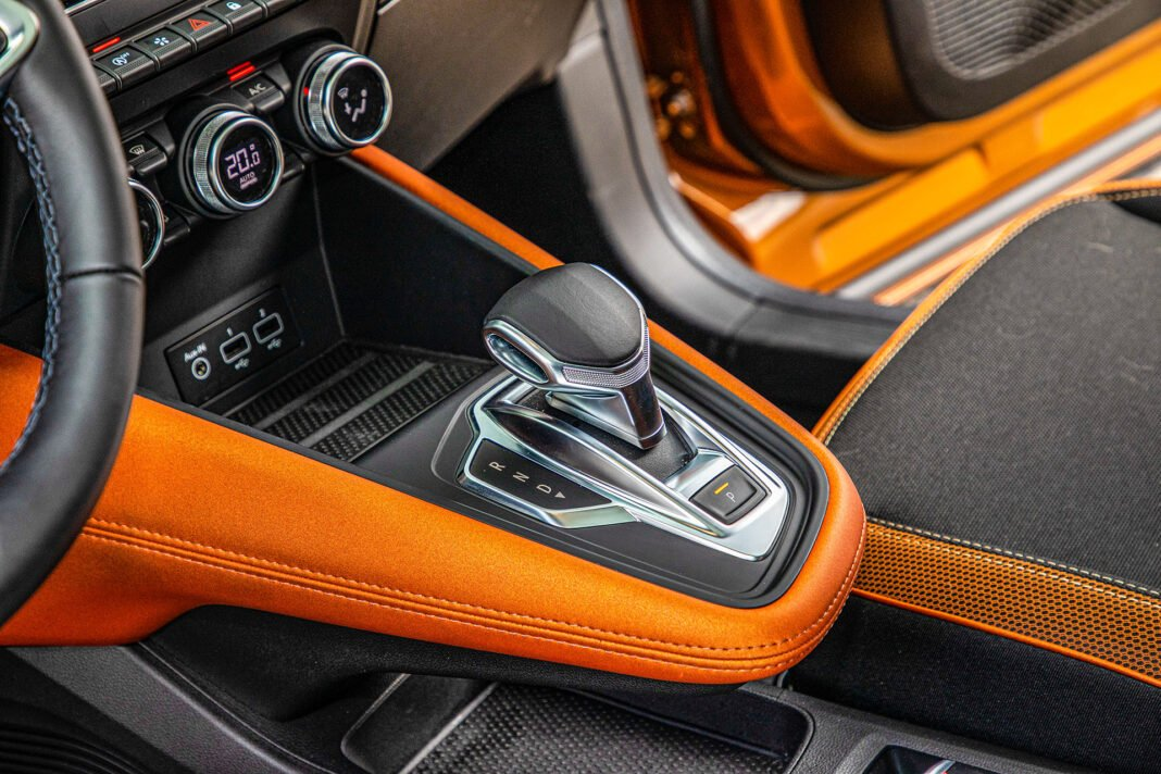 Renault Captur - konsola
