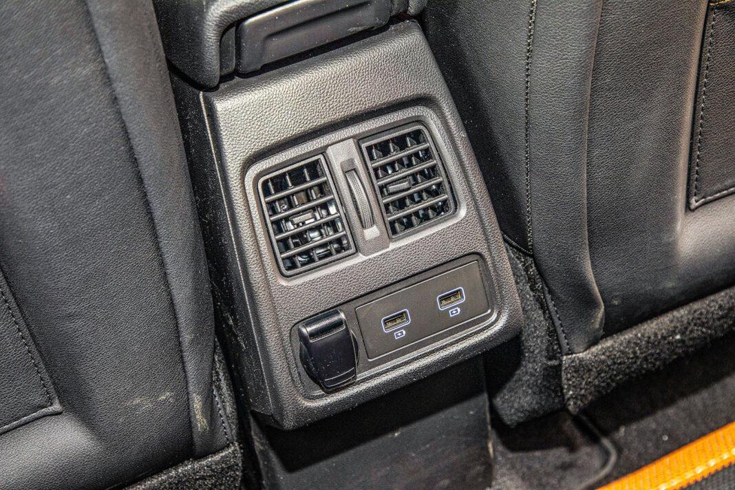 Renault Captur - nawiewy