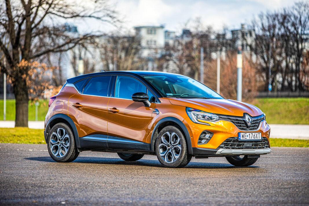 Renault Captur - prawy przód
