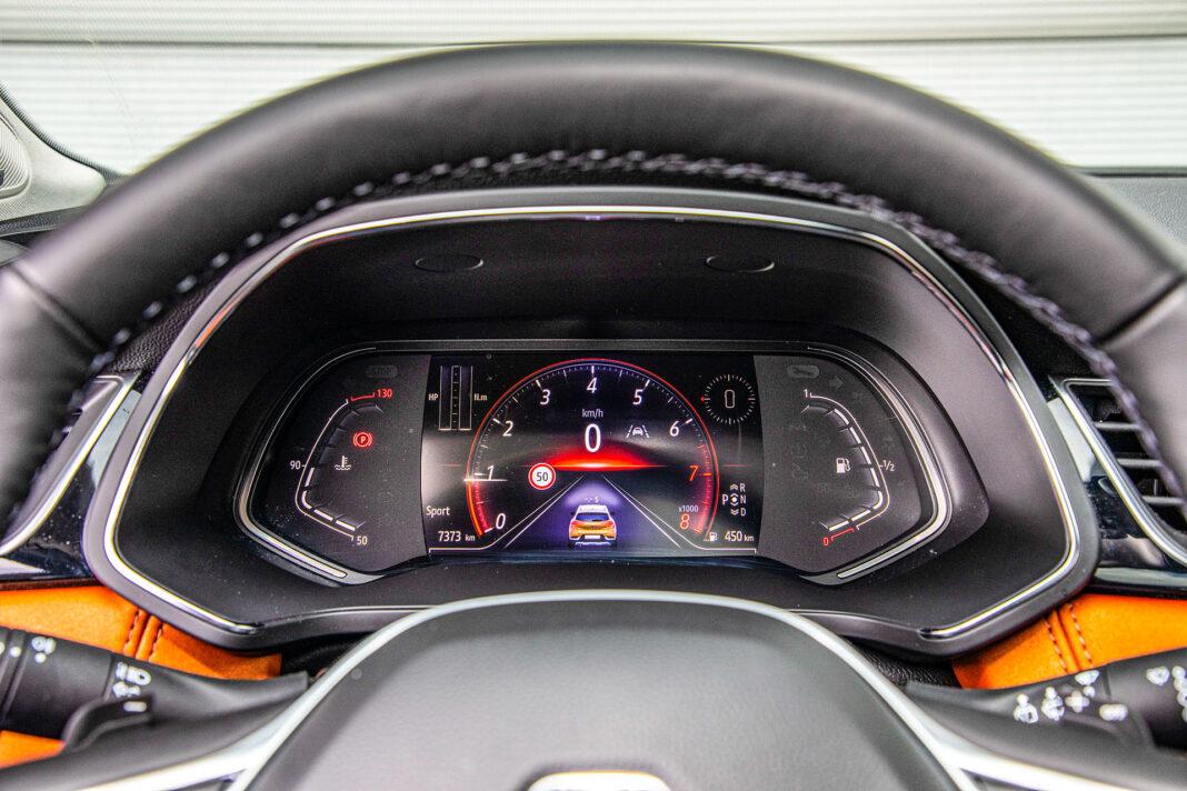 Renault Captur - zegary