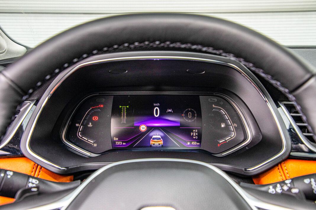 Renault Captur - ekran