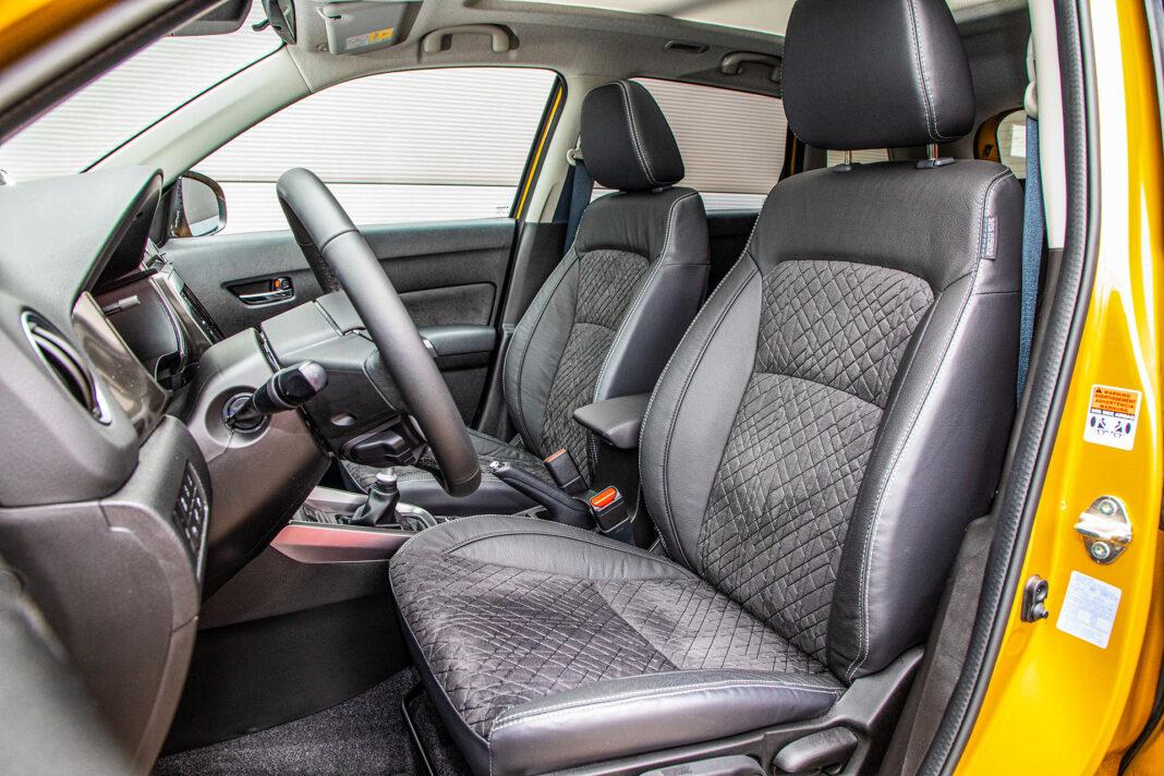 Suzuki Vitara - fotele