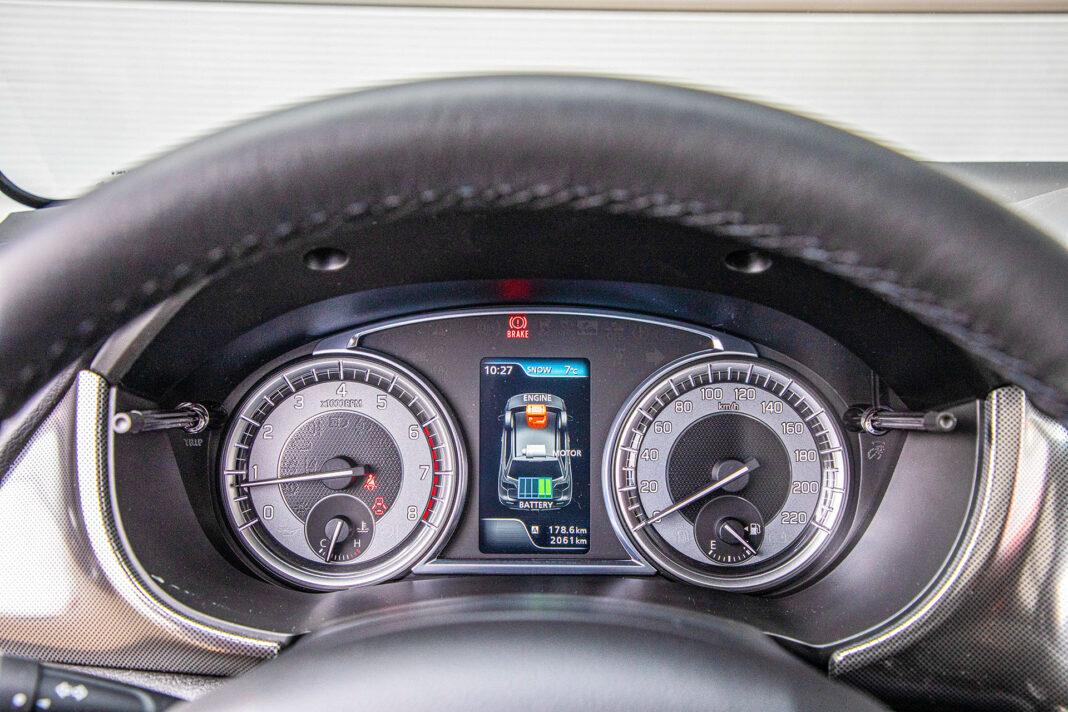 Suzuki Vitara - zegary