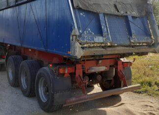 Naprawił ciężarówkę pianką montażową. Będzie 4000 zł kary