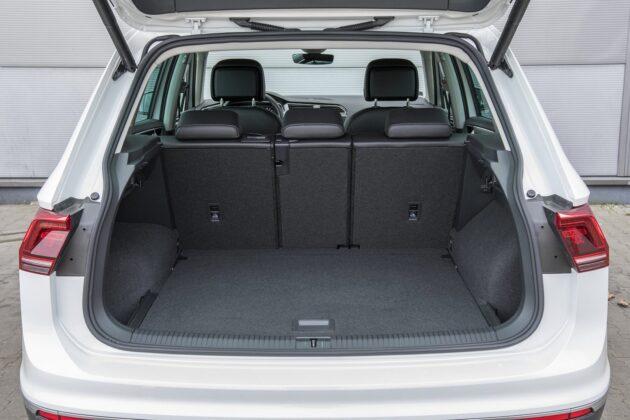 VW Tiguan - bagażnik