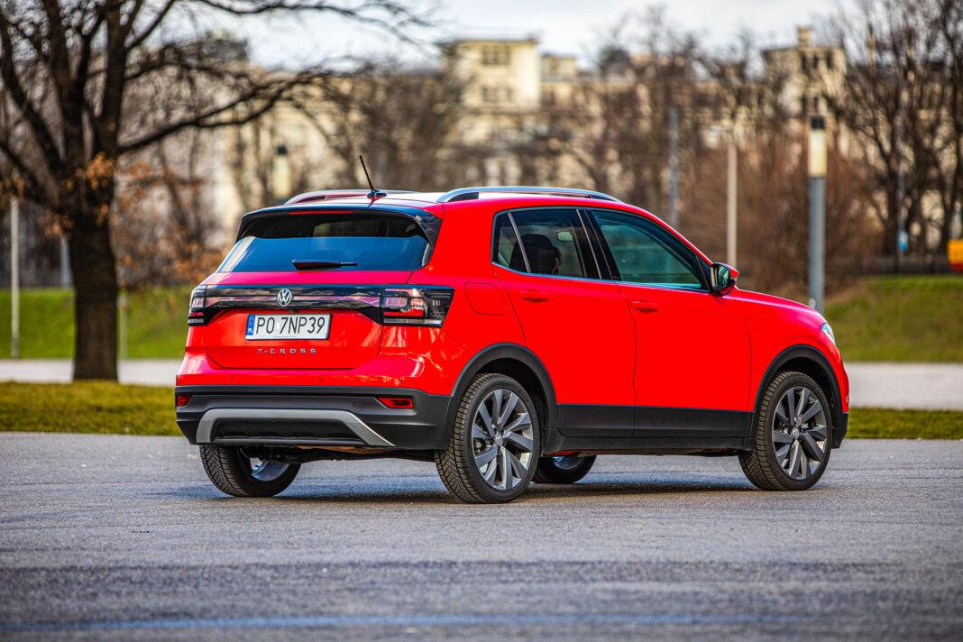 Volkswagen T-Cross - prawy tył