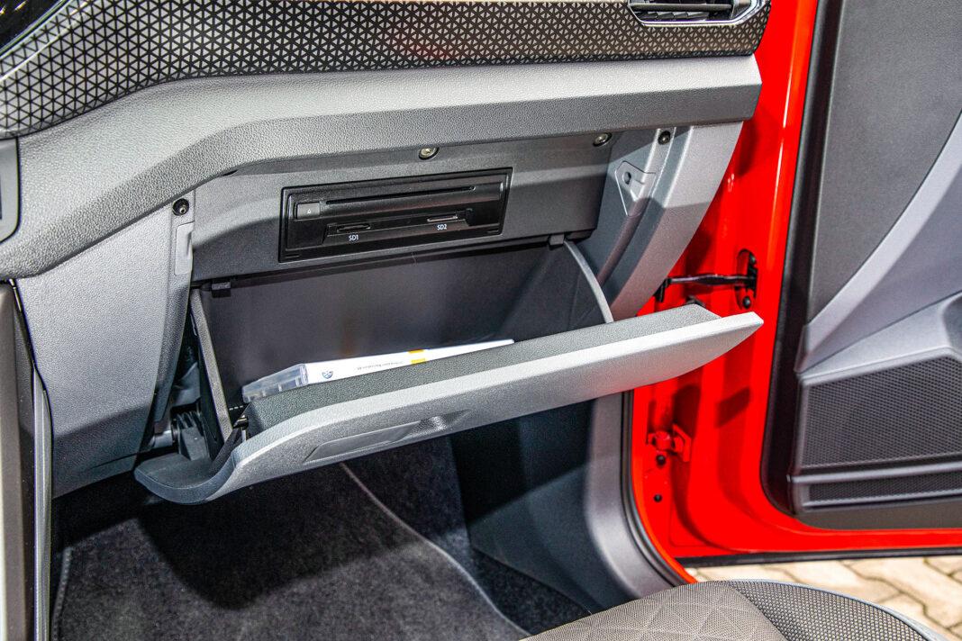 Volkswagen T-Cross - schowek