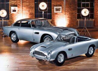 Elektryczny Aston Martin DB5 – zabawka dla bogatych
