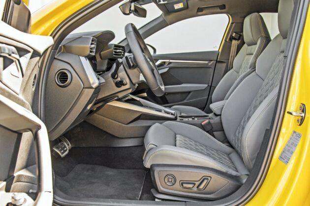 Audi S3 Sportback - fotele przednie