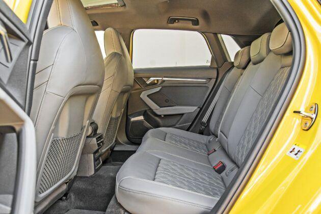Audi S3 Sportback - tylna kanapa