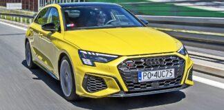 Audi S3 Sportback - przód