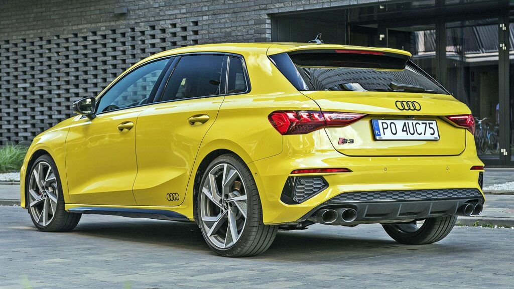 Audi S3 Sportback - tył