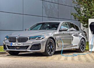 Nowe BMW 545e xDrive – prawie 400-konna hybryda plug-in