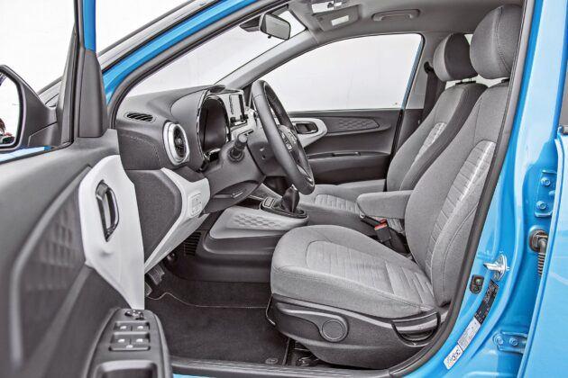 Hyundai i10 - fotele przednie