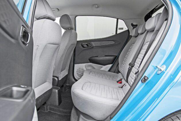Hyundai i10 - tylna kanapa