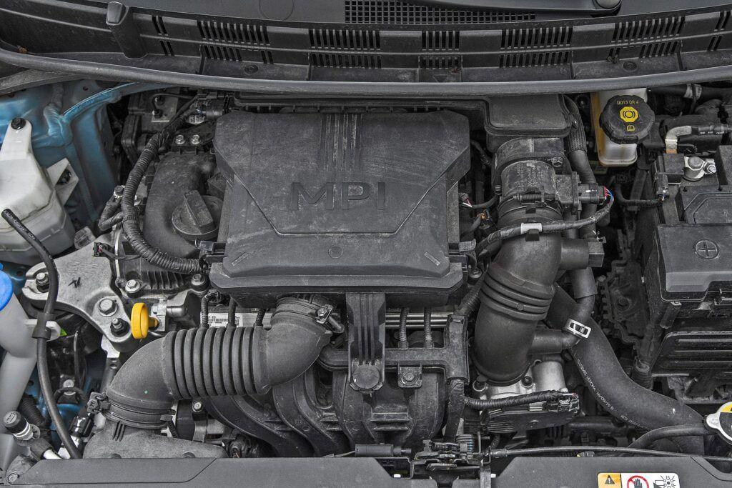 Hyundai i10 - silnik