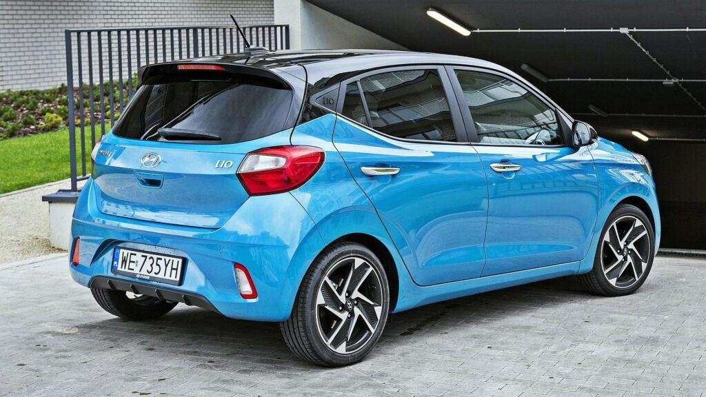 Hyundai i10 - tył