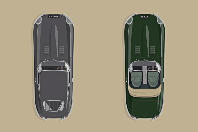 60 lat Jaguara E-Type