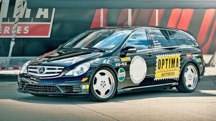 Mercedes R63 AMG