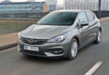 Opel Astra - przód