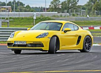 Porsche 718 Cayman GTS 4.0 – test na torze