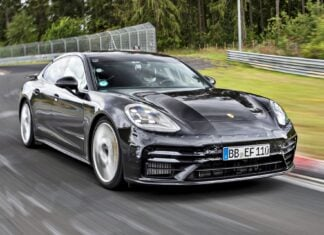 Nowe Porsche Panamera z rekordem okrążenia na Nurburgringu
