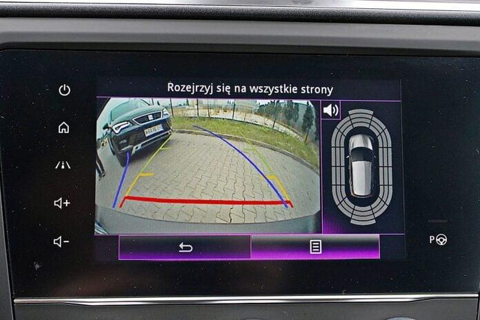 Renault Kadjar - kamera cofania