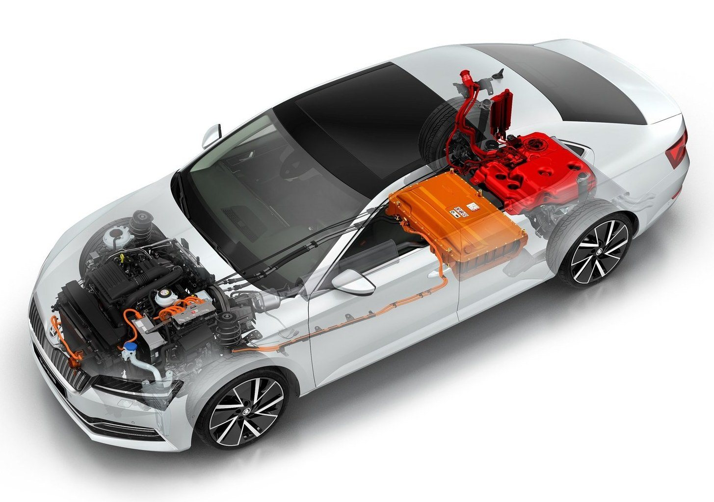 skoda superb iv hybryda plug-in