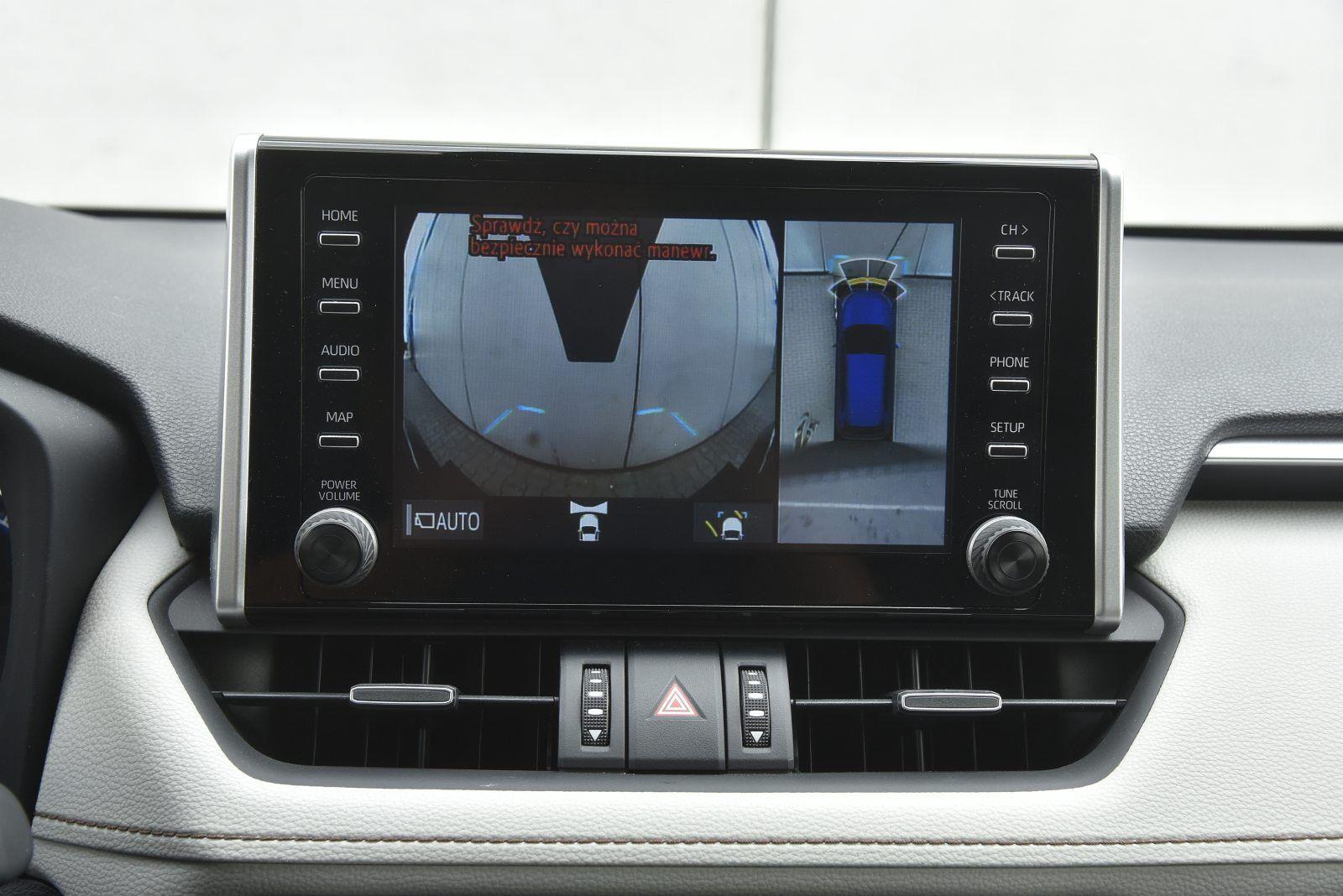 toyota rav4 kamery 360