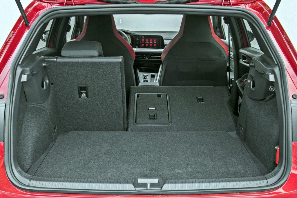 VW Golf GTI - bagażnik