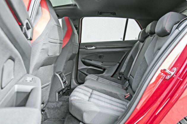 VW Golf GTI - tylna kanapa