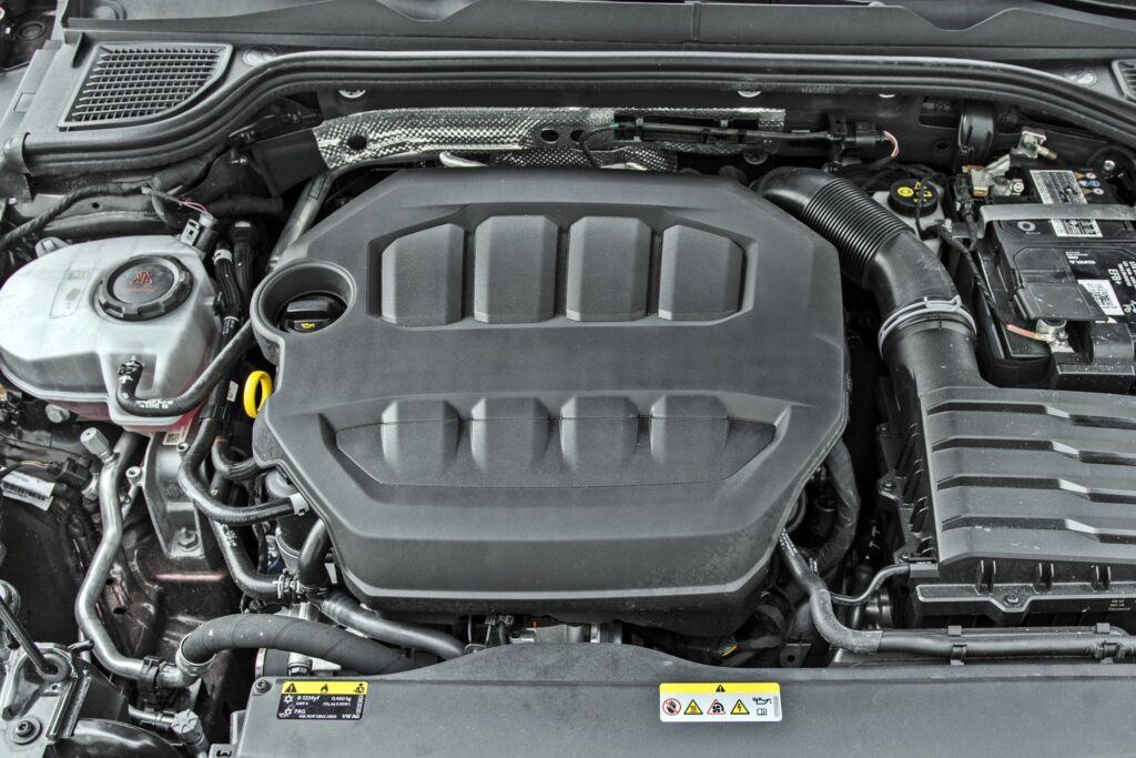 VW Golf GTI - silnik