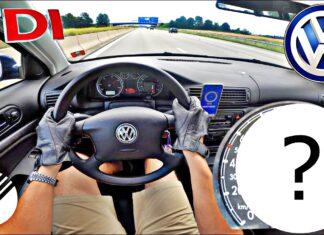 Ile wyciągnie Volkswagen Passat B5 1.9 TDI na autostradzie?