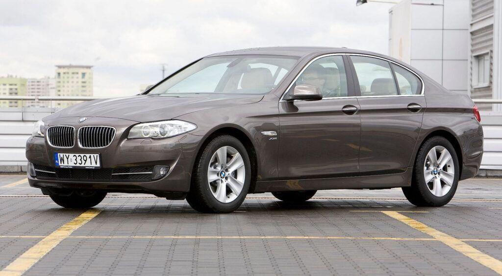 BMW 525d F10 2.0d 218KM 8AT xDrive WY3391V 04-2012