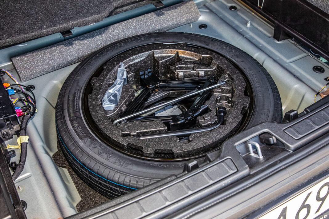 Volvo XC40 T3 test – koło zapasowe
