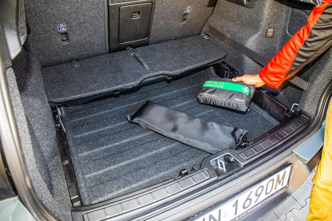 Volvo XC40 T3 test – bagażnik