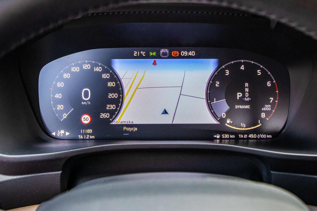 Volvo XC40 T3 test – wskaźniki