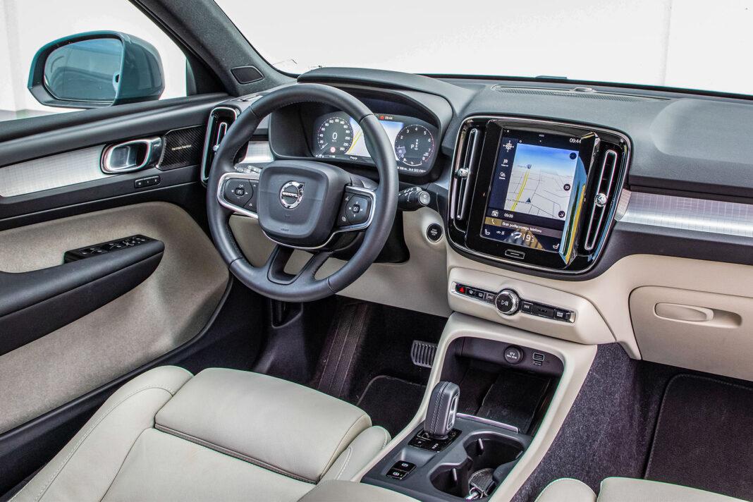 Volvo XC40 T3 test – deska rozdzielcza