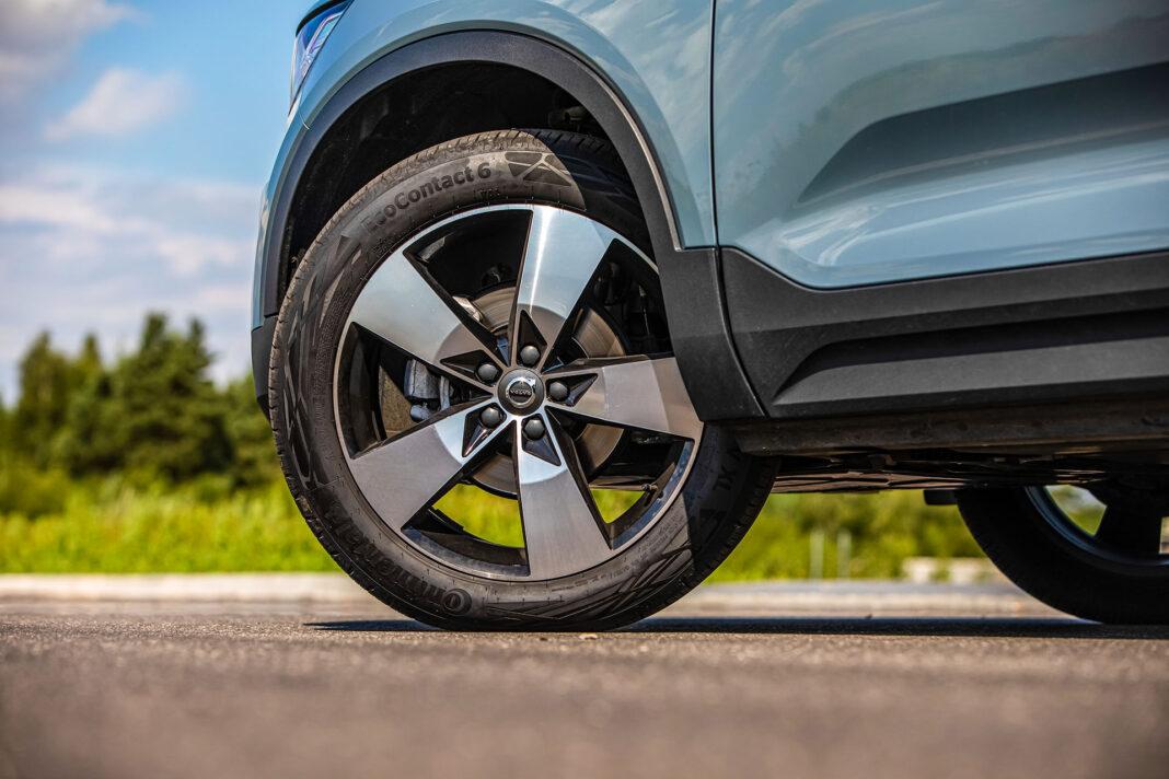 Volvo XC40 T3 test – koło
