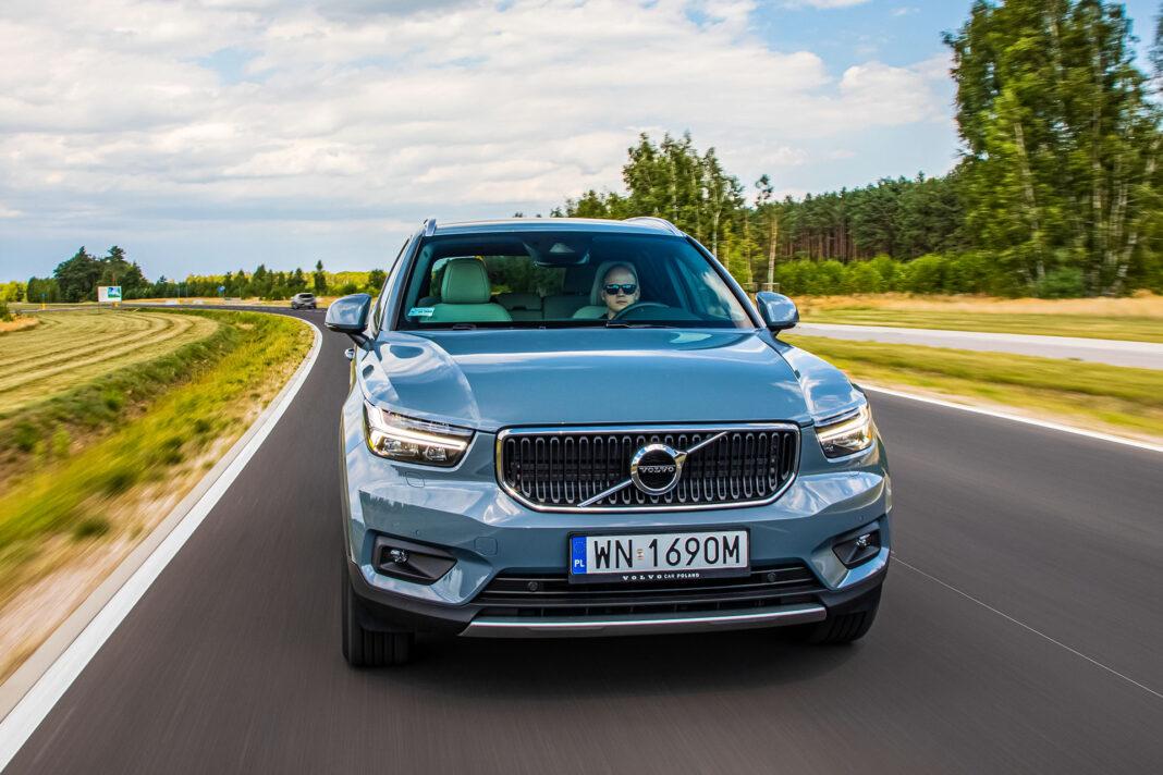 Volvo XC40 T3 test – przód