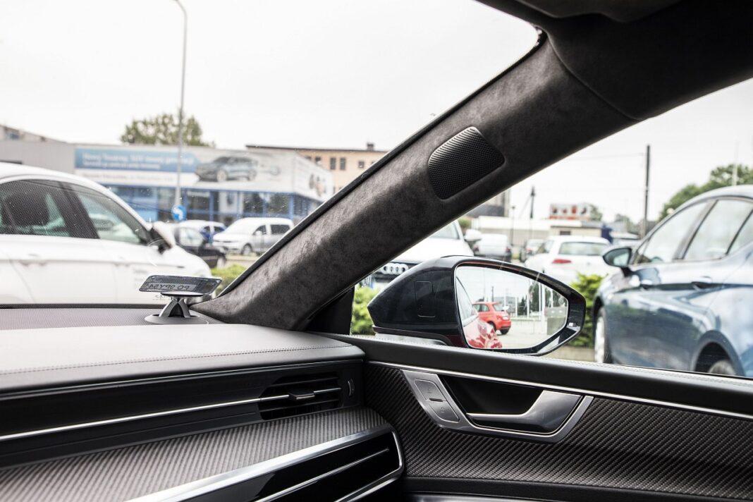 Audi RS 7 Sportback (2020) test widoczność