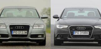 Audi A6 C6 i A6 C7