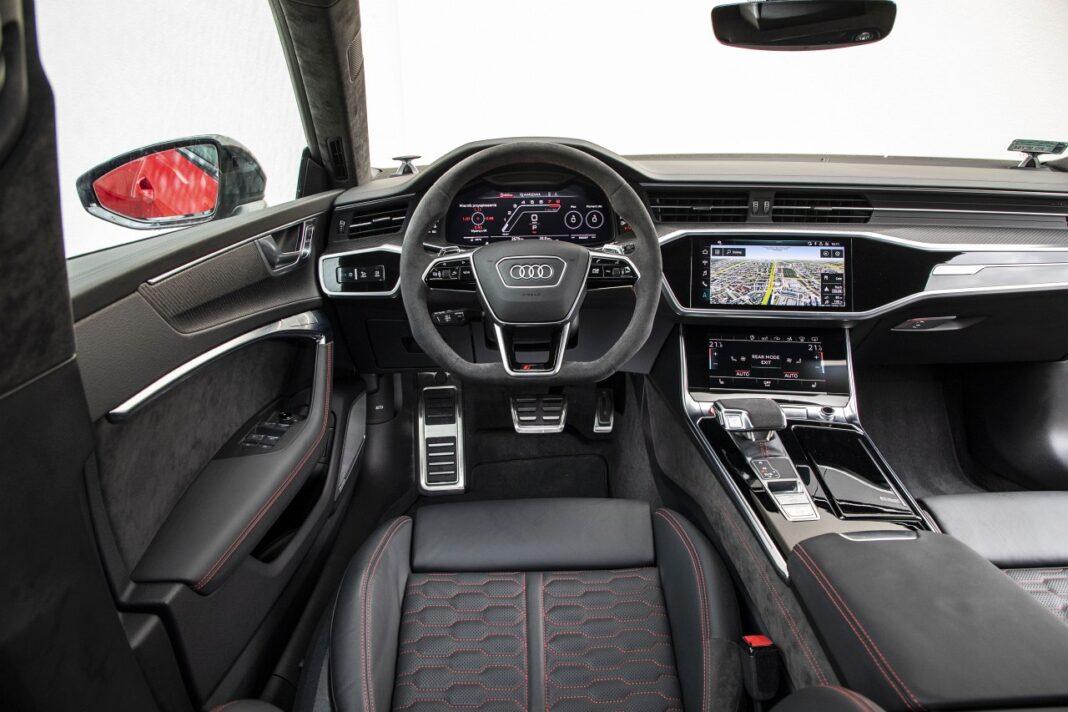 Audi RS 7 Sportback (2020) test deska rozdzielcza