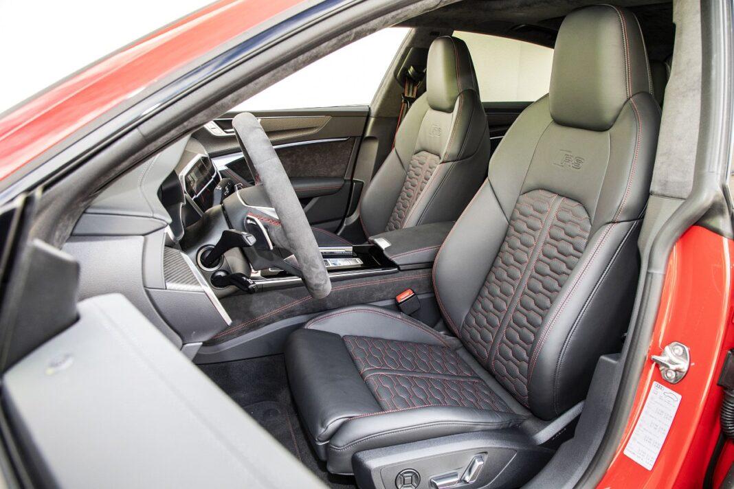 Audi RS 7 Sportback (2020) test fotele przód