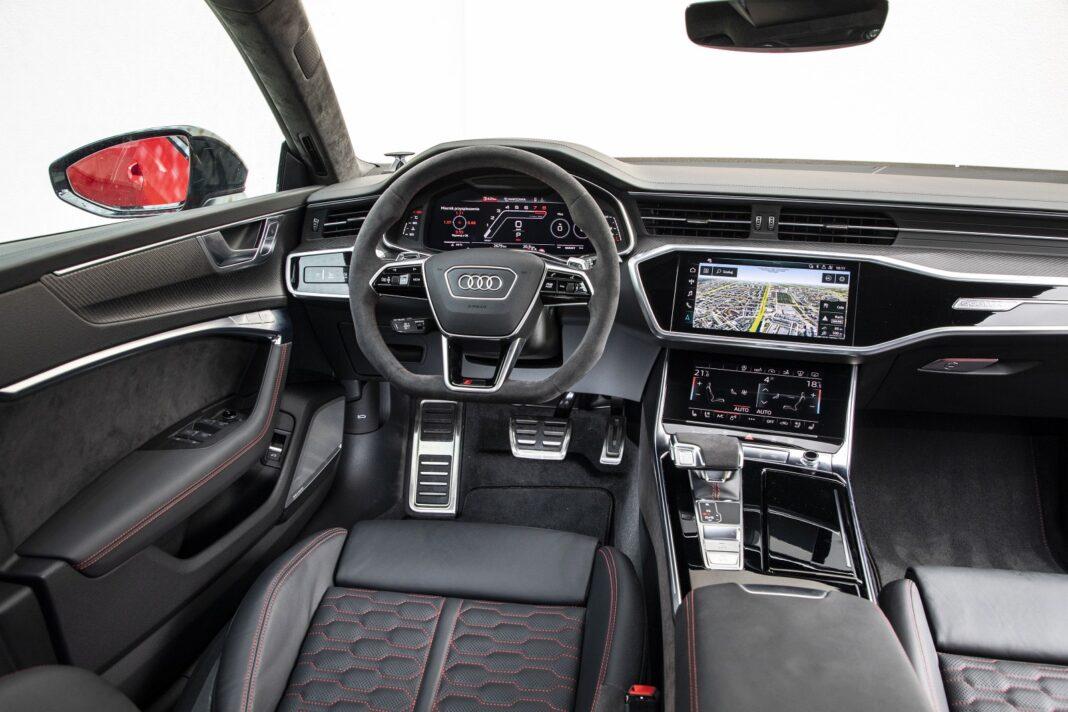 Audi RS 7 Sportback (2020) test kokpit